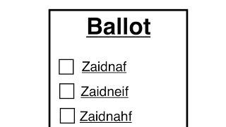 """Poll: Pronouncing """"Xidnaf"""""""