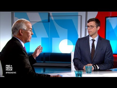 Brooks and Klein on 2018 election security threats, Koch-Trump brawl