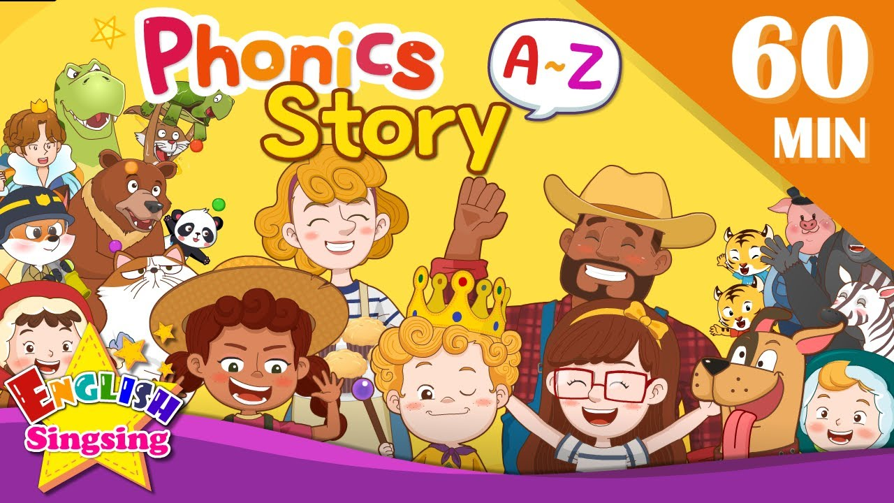 Download English Phonics Story | A to Z for Children | Collection of Kindergarten Story