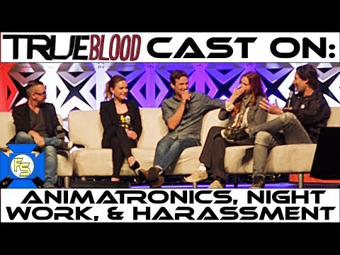 The TRUE BLOOD Cast on Animatronics, Working Nights & Harassment - Panel 2018 3/4