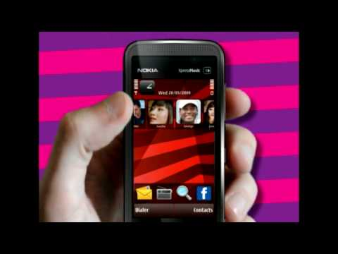 Nokia 5530 Homescreen video