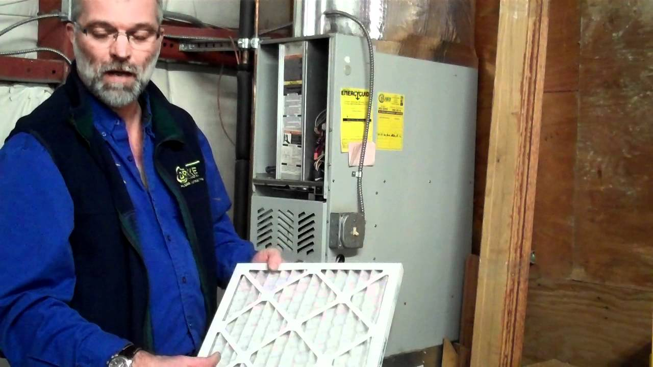 How to Change A Furnace Filter - YouTube