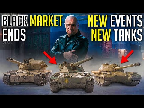 Market Ends, New Events And Special Tanks Coming To World Of Tanks | Frontline And Steel Hunter 2020