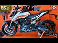 2020 Ktm Duke 390 Bs6 White Colour Dual Abs | Price | Mileage | Features | Specs