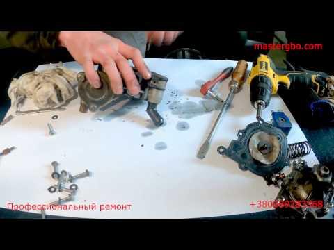 Замена ремкомплекта редуктора Tomasetto Alaska