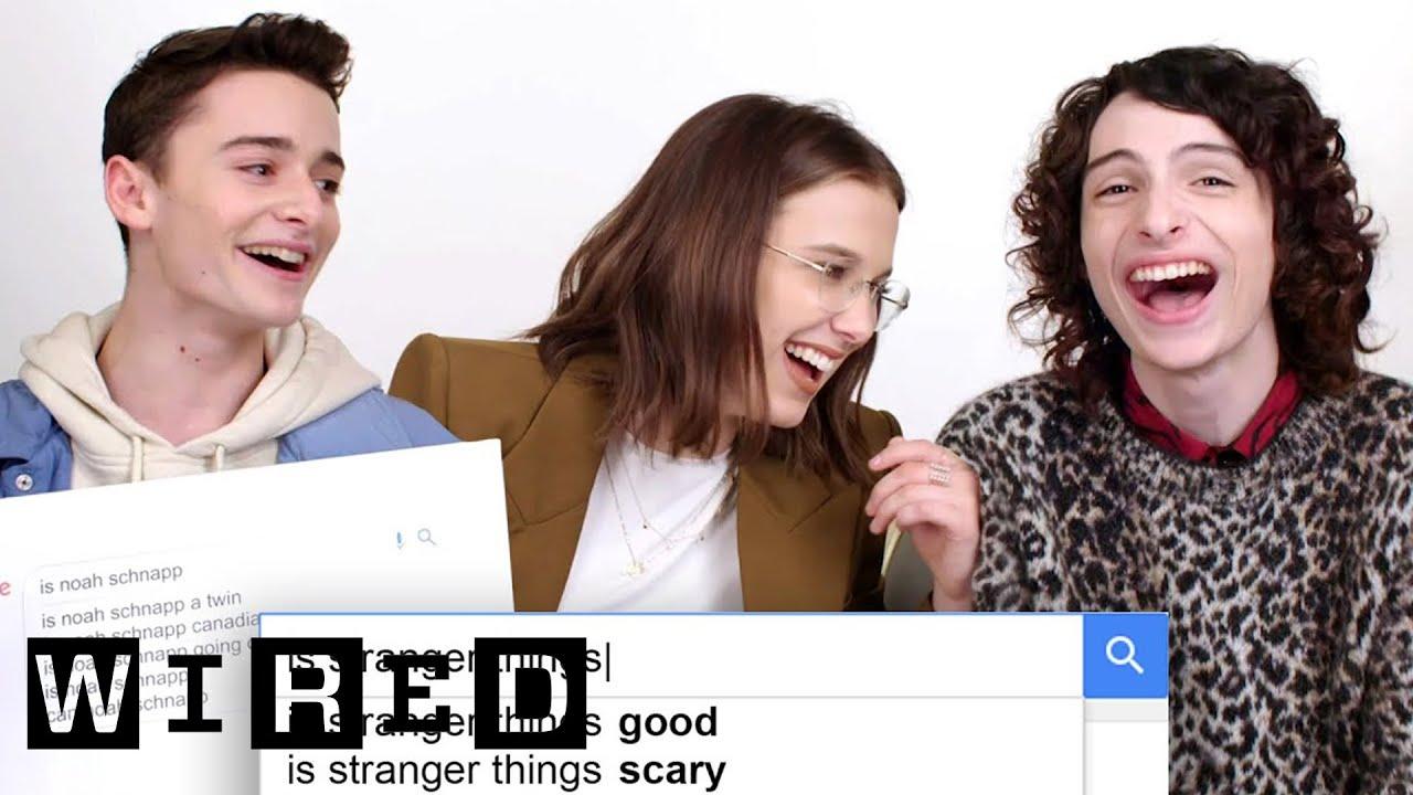 「ストレンジャー・シングス」キャストがよく検索される質問に回答 | WIRED.jp