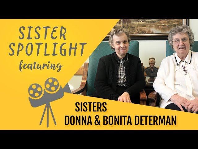 Sisters Donna and Bonita Determan