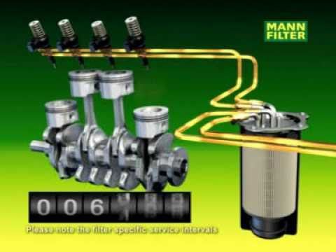 MANN-FILTER Fuel Filters - YouTubeYouTube