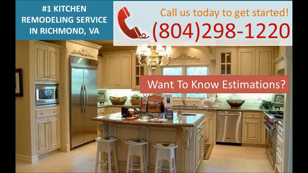 kitchen remodeling richmond va - (804)298-1220 - youtube