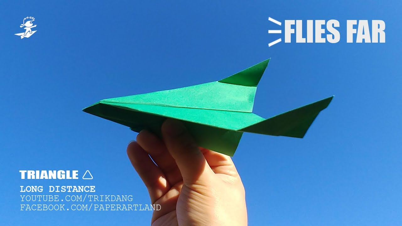 Paper Stealth Airplanes, Easy Origami for Kids, Basic origami ...   720x1280