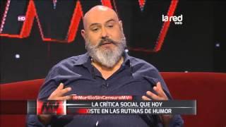 León Murillo: el hombre que hace crítica social con su humor