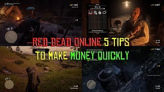 Red Dead Online 5 Tips To Make Quick Money