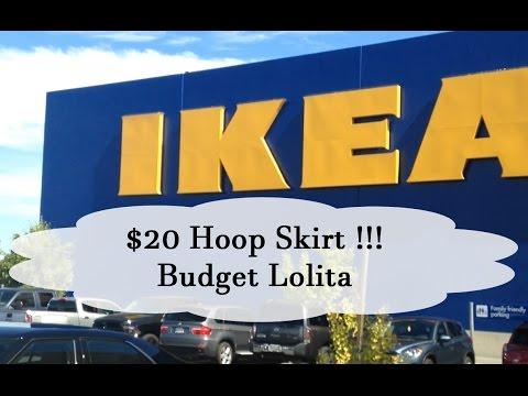 $20 Ikea Hoopskirt   Budget Lolita
