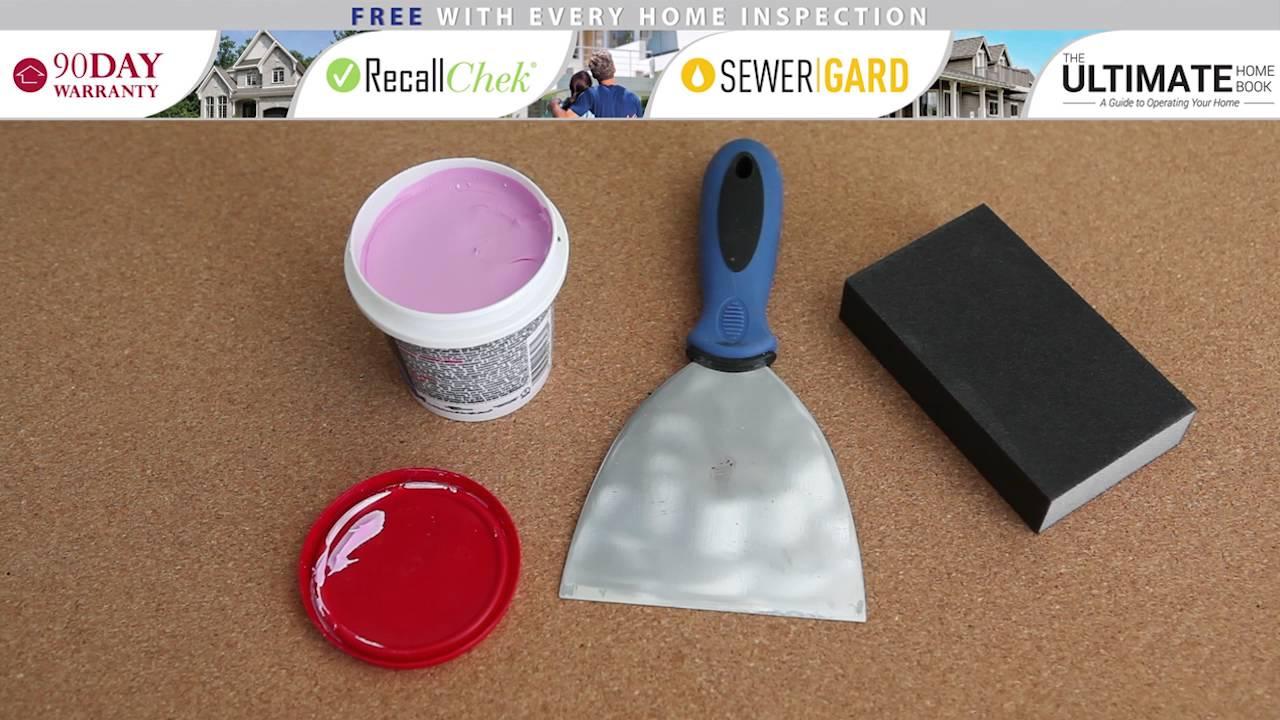Repairing a Small Drywall Hole