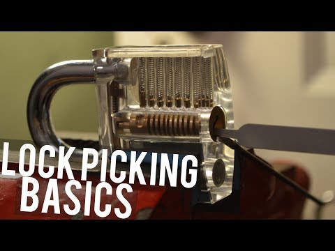 How to Pick a Lock (Basics)