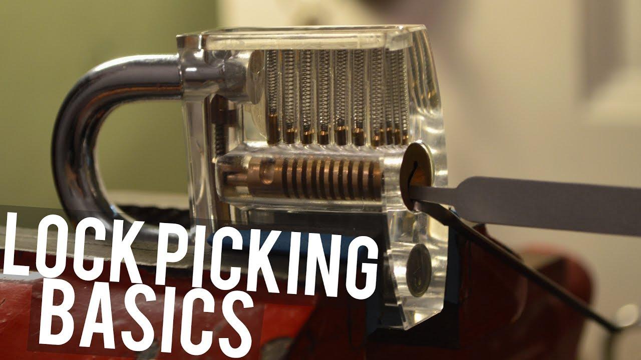 how to pick a lock basics  [ 1280 x 720 Pixel ]