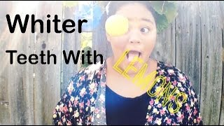 Whiter Teeth With Lemons?! Thumbnail