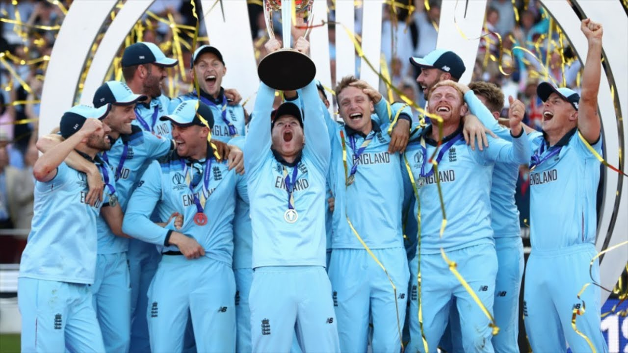 England win Cricket World Cup after super-over drama against New Zealand