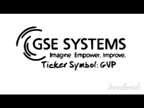 GSE Systems Inc., Ticker Symbol: GVP