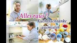 Küchenschränke neu organisieren I Haushalt & kochen I NadineMari