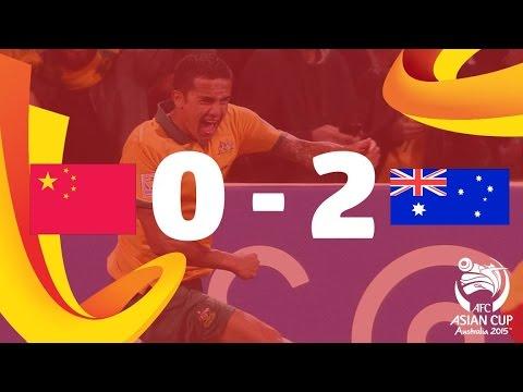 QF2: China vs Australia - AFC Asian Cup Australia 2015