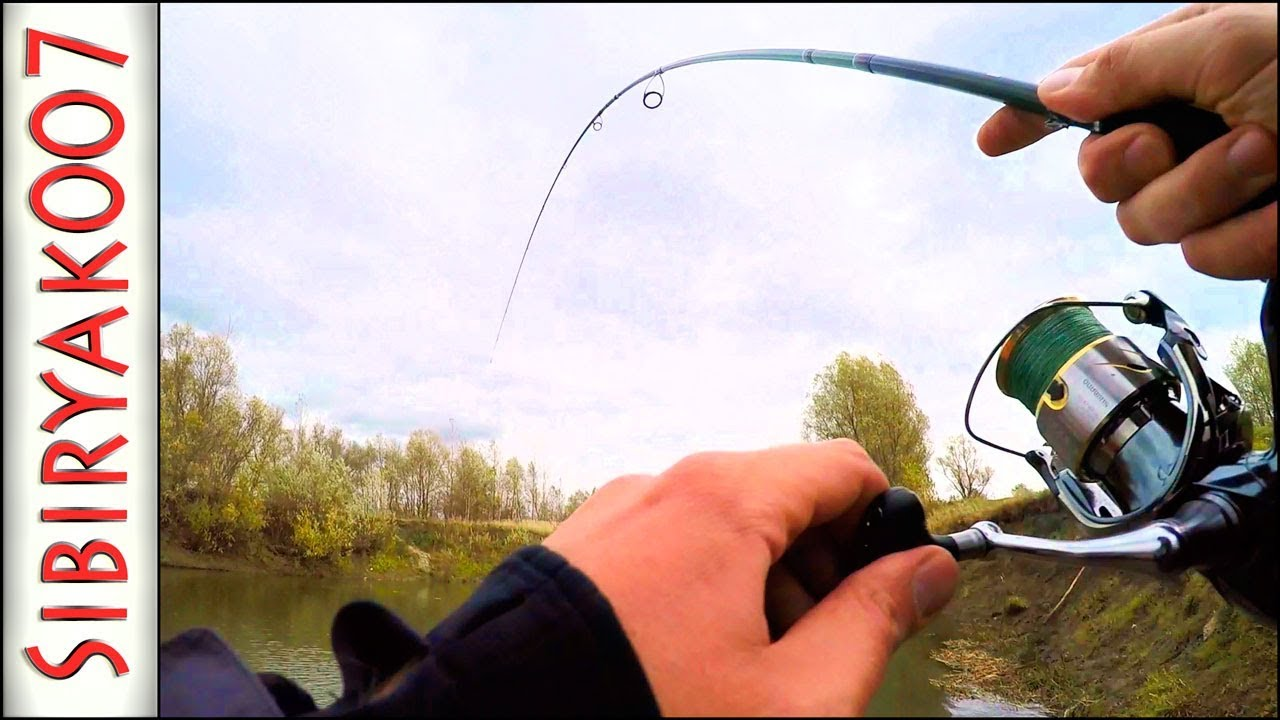 ловля на джиг с берега крупной реке