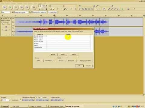 [Tuto] Comment exporter et convertir un fichier Audacity en format MP3