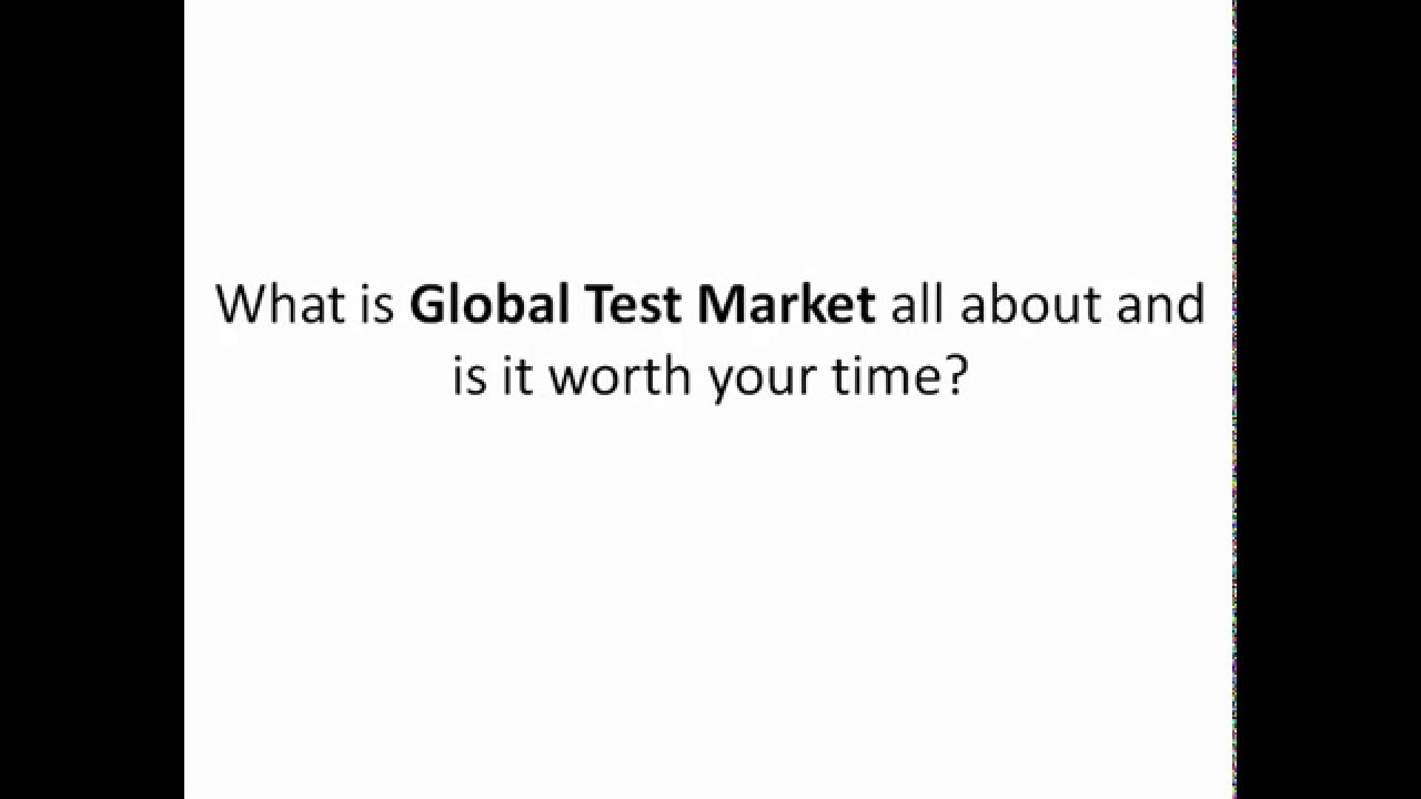 Global Test Market Review 2019 - Are Global Test Market ...