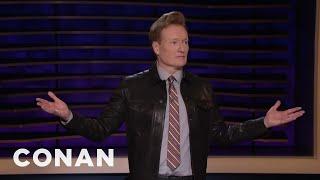 Conan: Trump Has Never Taken A Small Bite In His Life - CONAN on TBS