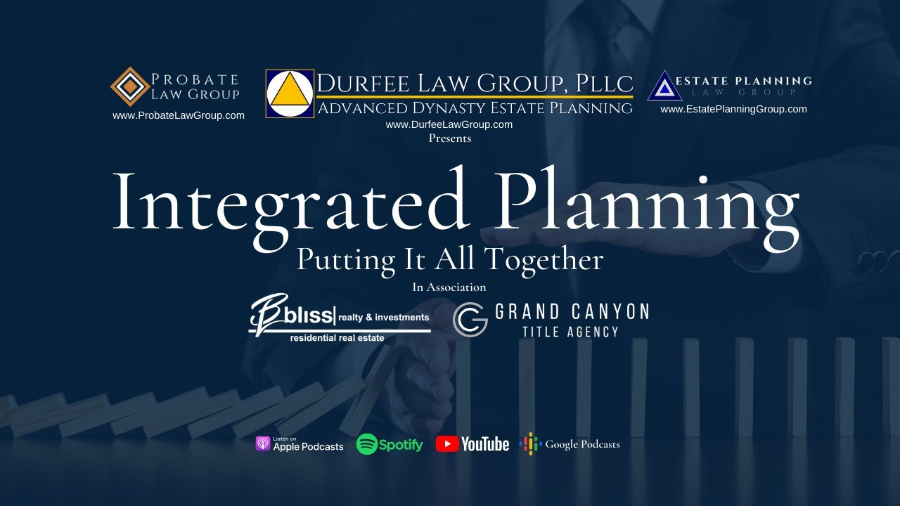 Integrated Planning – Putting It All Together
