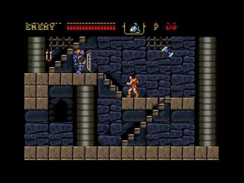 Castlevania: 30th Anniversary Enhanced Graphics (NES)(ROM Ha