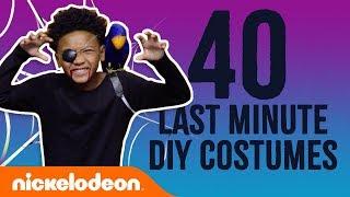 DIY Halloween: 40 Last-Minute Costumes  w SpongeBob SquarePants, Loud House &amp More!  Nick