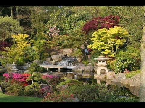 Meditation music.  Japanese garden.