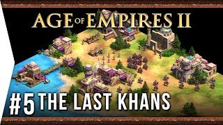 Tamerlane! ► Age of Empires 2: Definitive Edition - #5 Scourge of the Levant - [The Last Khans]