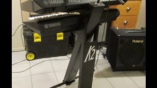 Cheap Two-tier Gigging Keyboard Stand Can Save You Hundreds