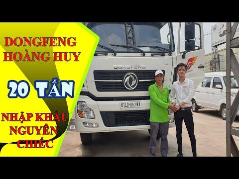 Đánh giá xe tải 4 chân, Dongfeng hoàng huy ISL 315 tải 17T9, nhập khẩu nguyên chiếc .