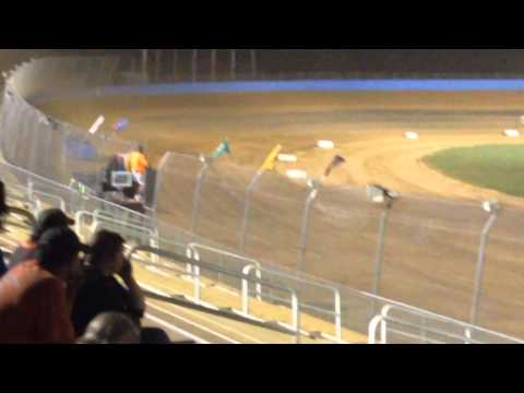 Tim Brown racing 8/15/2015 late models at KLMS