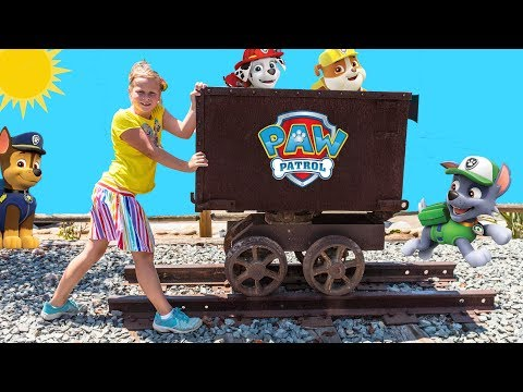 Assistant PAW PATROL TRAIN HUNT With Hidden PJ Masks Toys from YouTube · Duration:  26 minutes 4 seconds