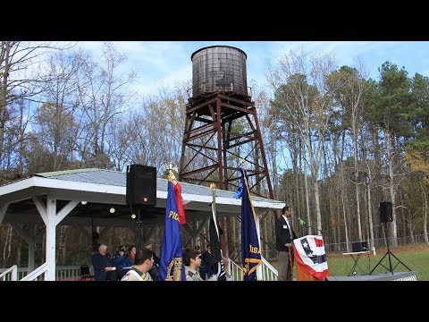Pickens County Veterans Day Celebration Ceremony 2017