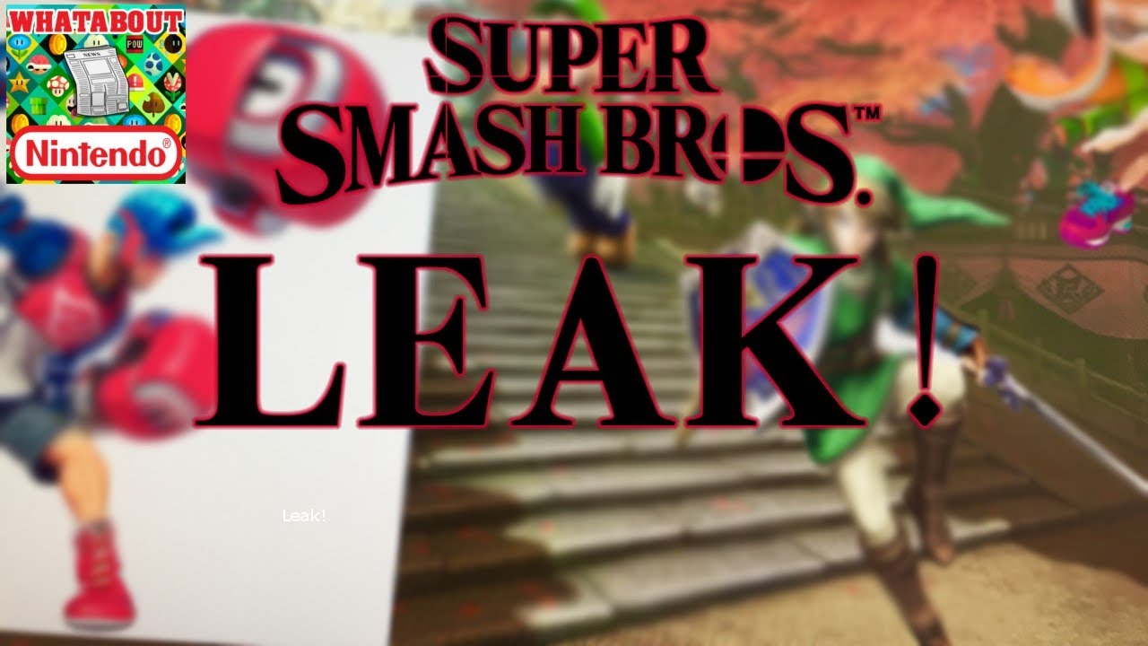 Smash Bros Switch Leak: Springman and Paper Mario Confirmed?! (Skit)