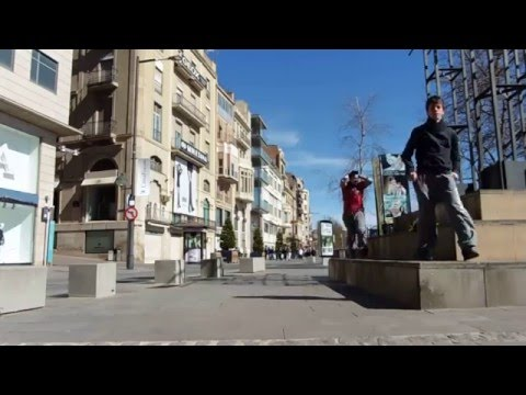 Stunts Parkour Lleida - First video