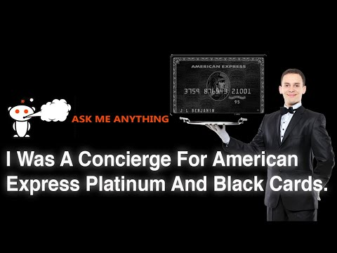 Stories of An AMEX Black Card Concierge | My Reaction