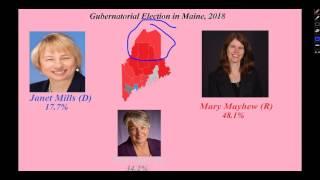 Maine Gubernatorial Election Prediction, 2018