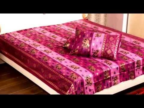 Bed Sheets U0026 Cushion Covers At JAIPUR FABRIC