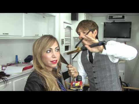 How To: Wavy Hair Tutorial With Curling Iron - Diana Madison thumbnail