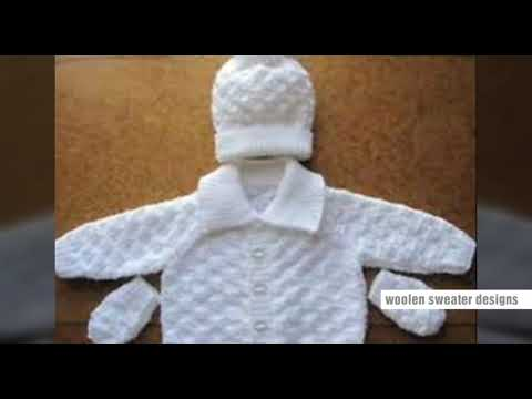 bc9cfde17 New sweater design for kids or baby in hindi - knitting design ...