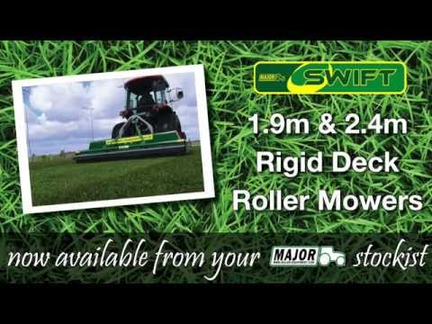 MAJOR 1.9m and 2.4m Swift Roller Mowers