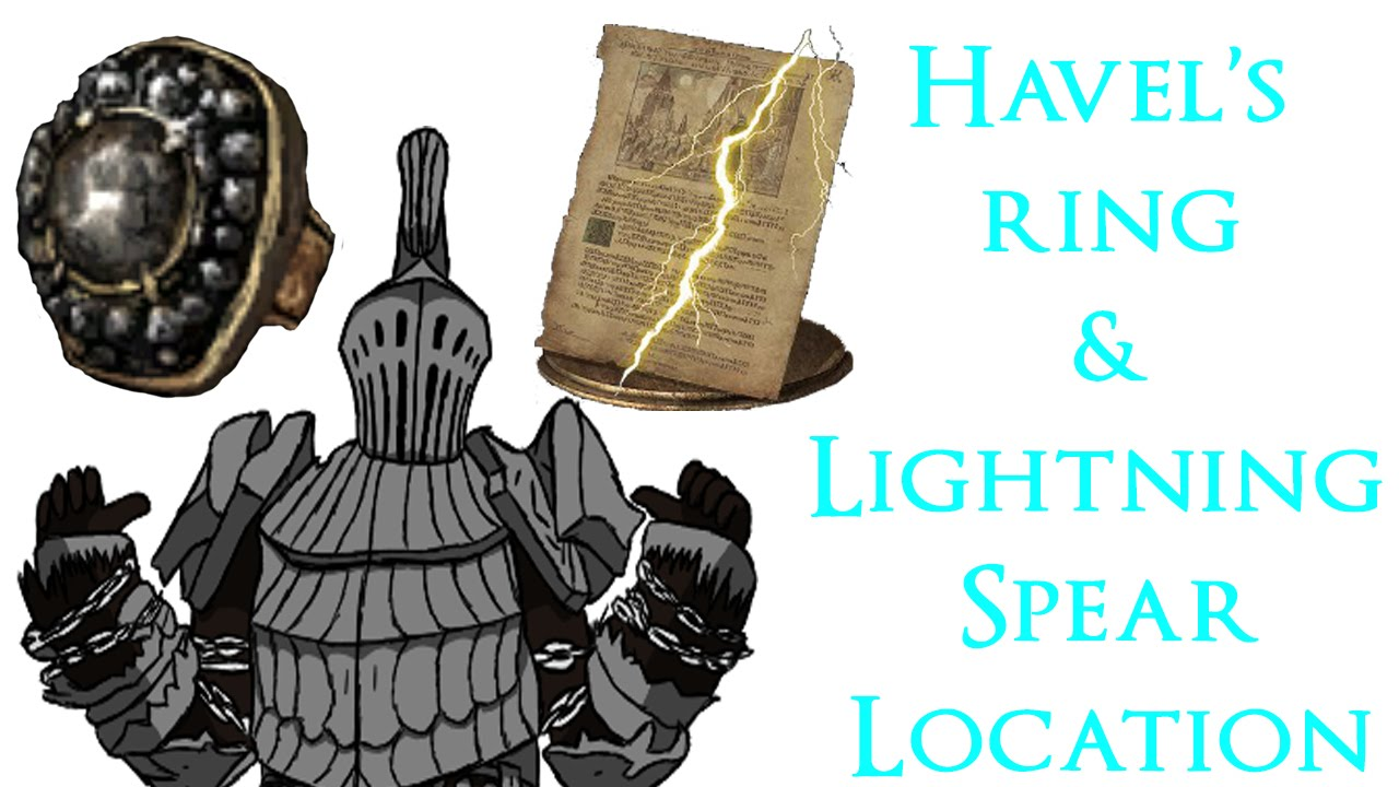 dark souls 3 havel s ring lightning spear locations youtube