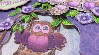 Tutorial Chameleon Markers & Heartfelt Creations Sugar Hollow Card