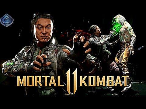 Mortal Kombat 11 - Exclusive Shang Tsung Klassic Tower Gameplay!  
